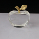 Clear glass crystal apple innovative birthday gifts