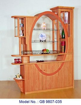 Wooden Gl Tv Cabinet With Display Showcase Stand Modern Design Mdf Living