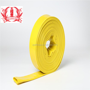 "China 12"" pvc layflat discharge hose supplier"