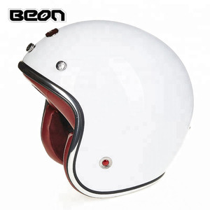 Jet Vintage Retro scooter helmet motorcycle half halmet ece approved helmet motorcycle custom