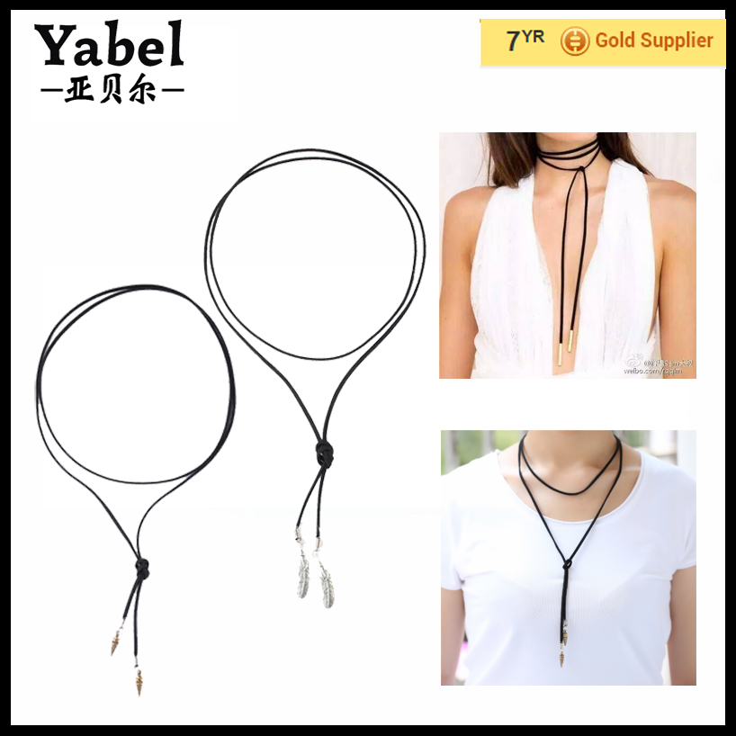 2016 Vintage Leather Necklace Jewelry Latest Bead Necklace Designs ...
