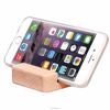 Beech Wooden Dual-Angle Universal Cell Phone Stand / Viewing Cradle