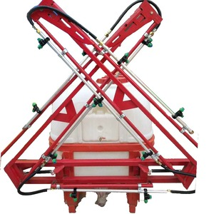 Triplex pump tractor mounted boom sprayer with high condition