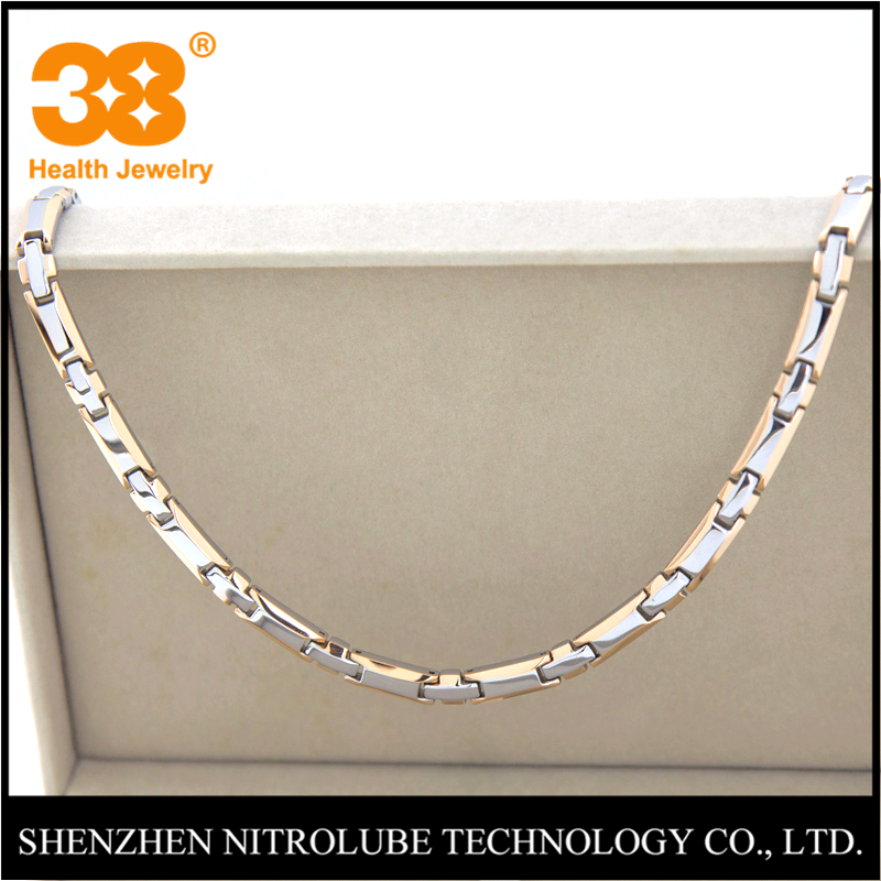 <strong>Fashion</strong> and Health Germanium Titanium Necklace Jewelries
