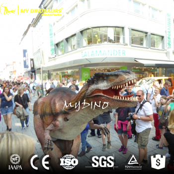 MY Dino CP-09 Mascot Walking With Realistic Dinosaur Costume