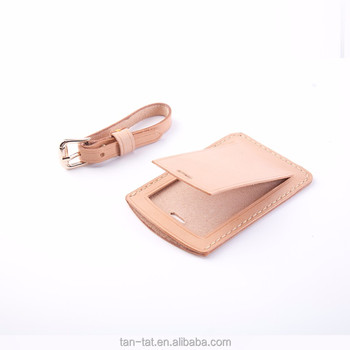 Top Nice Genuine Leather Luggage Tags Wedding Favor - Buy Leather ...