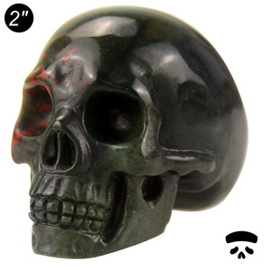Wholesale gift items indian agate 2 inch carved skull,decorative items gifts