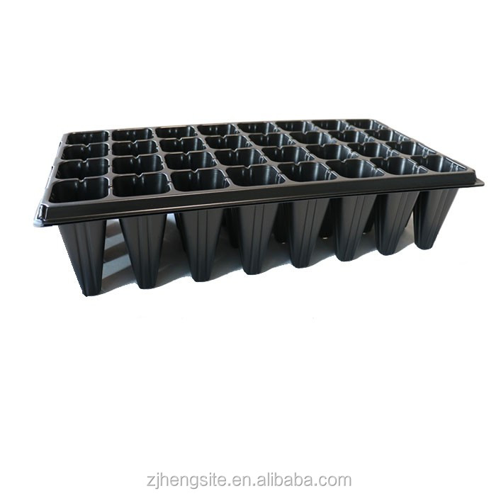 Biodegradable high cell seed tray for greenhouse planting,tree planting(deep cells)