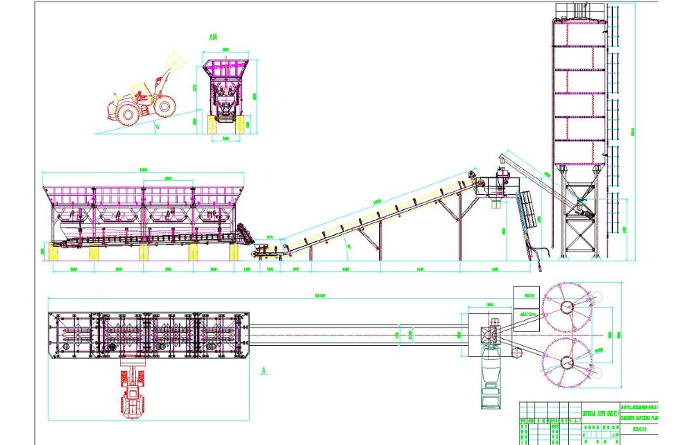 Batching Plant Layout