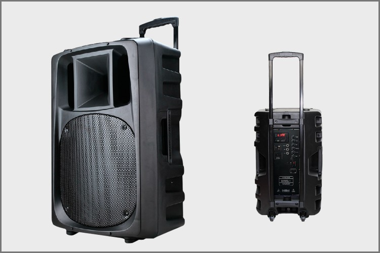 Hifi Professional Mp3 Bluetooth Dj Pa Speakers Portable 15 Inch ...