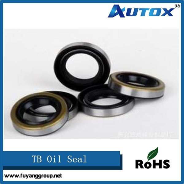 black TB NBR rubber power steering shaft oil seal for Car and motorcycle