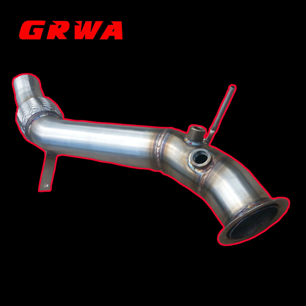 Pipe Fittings Exhaust Downpipe for BMW e81 e82 e87lci e88 116d 118d 120d N47