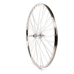 Sta-Tru Silver Steel 6-7 Speed Freewheel Hub Rear Wheel (26X1 3/8-Inch) by Sta Tru