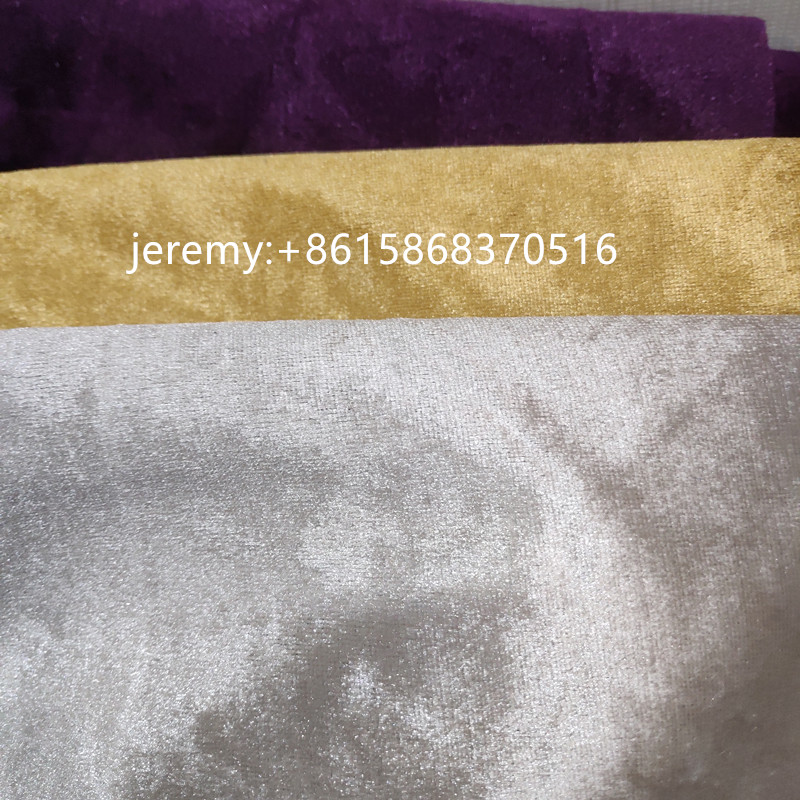 cheap price shiny turkish fabric velvet for sofa fabric