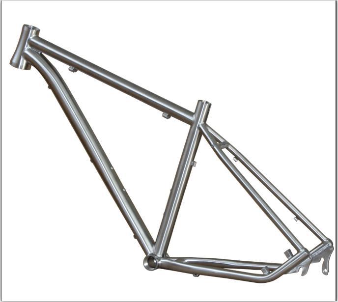 Full Suspension Titanium Mountain Bike Frame - Buy Full Suspension ...
