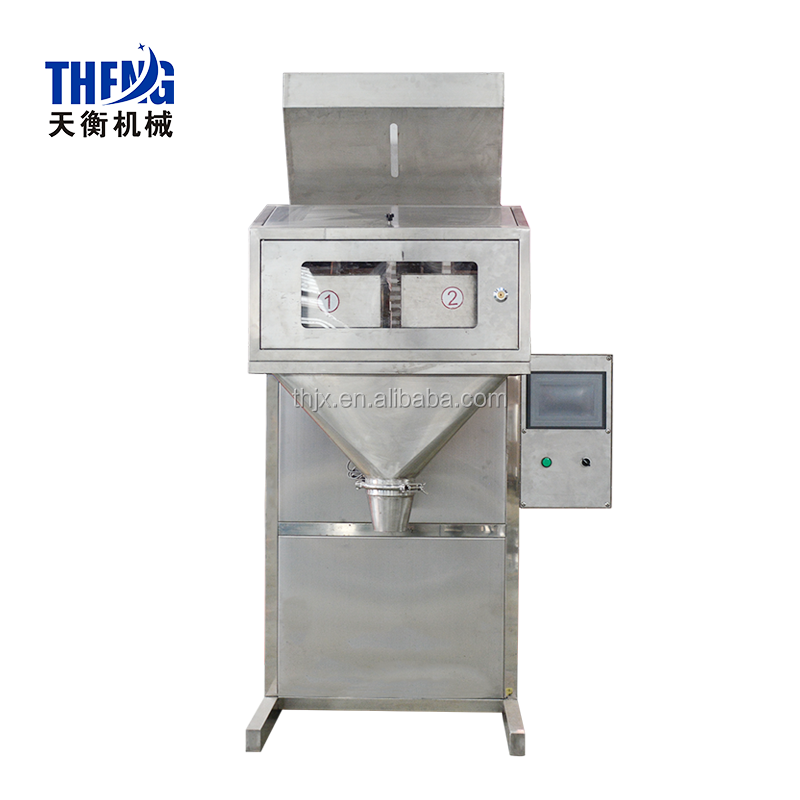 Automatic weighing pouch vertical food packaging machinery