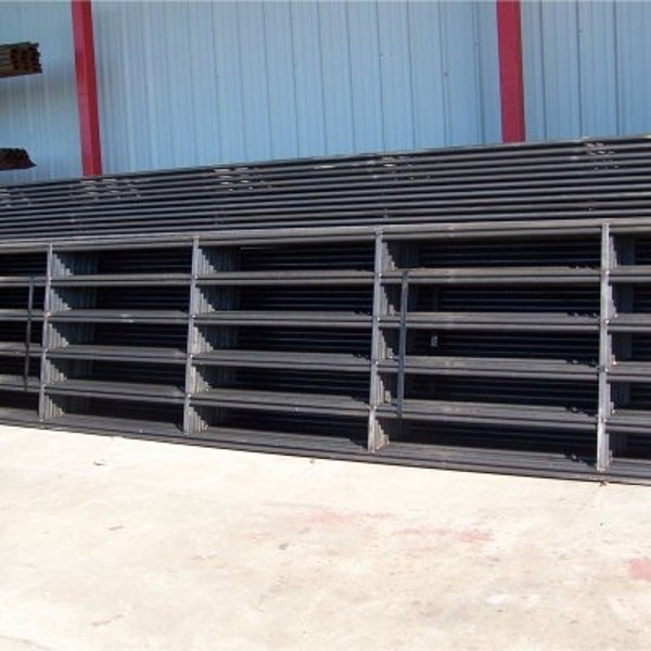 Welded Steel Continuous Fence Buy 5 Bars Horse Fence