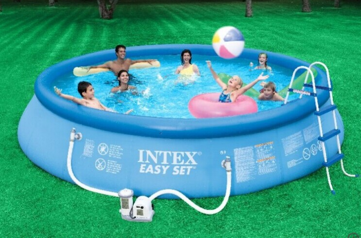 Plastik Pool inflatable kids intex frame swimming pool - buy inflatable pool,hard