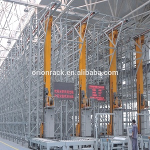 Warehouse Palletized Goods Rack Automated Storage System(AS/RS), Heavy duty pallet racking