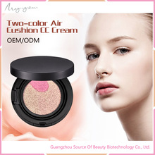 Makeup Cosmetic Cushion CC Cream Whitening Brightening Waterproof Two colors Air Cushion BB/CC Cream
