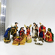 Christian product nativity set paintable resin figurines nativity figures