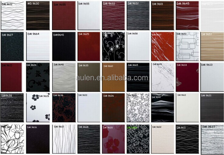High Glossy Color Colored Acrylic Wall Panels For