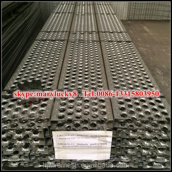 アルミのデッキプレート パンチングメタルデッキ デッキ穴あき 金属建材 製品id 60156595424