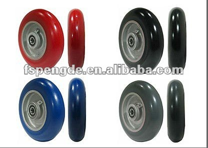 Foshan chinese supplier rubber roller skate wheel