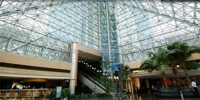 durable peb steel structure shopping mall