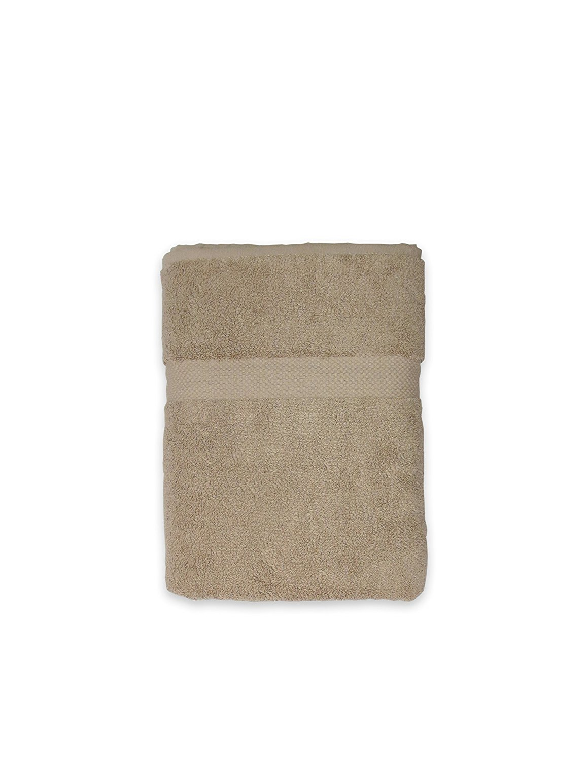 Turkish Luxury Linens 800 Gsm Bath Towel, Taupe