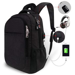 Men Travel Anti Theft Laptop School Bag Smart Backpack with Combination  Lock 12c01e5914114