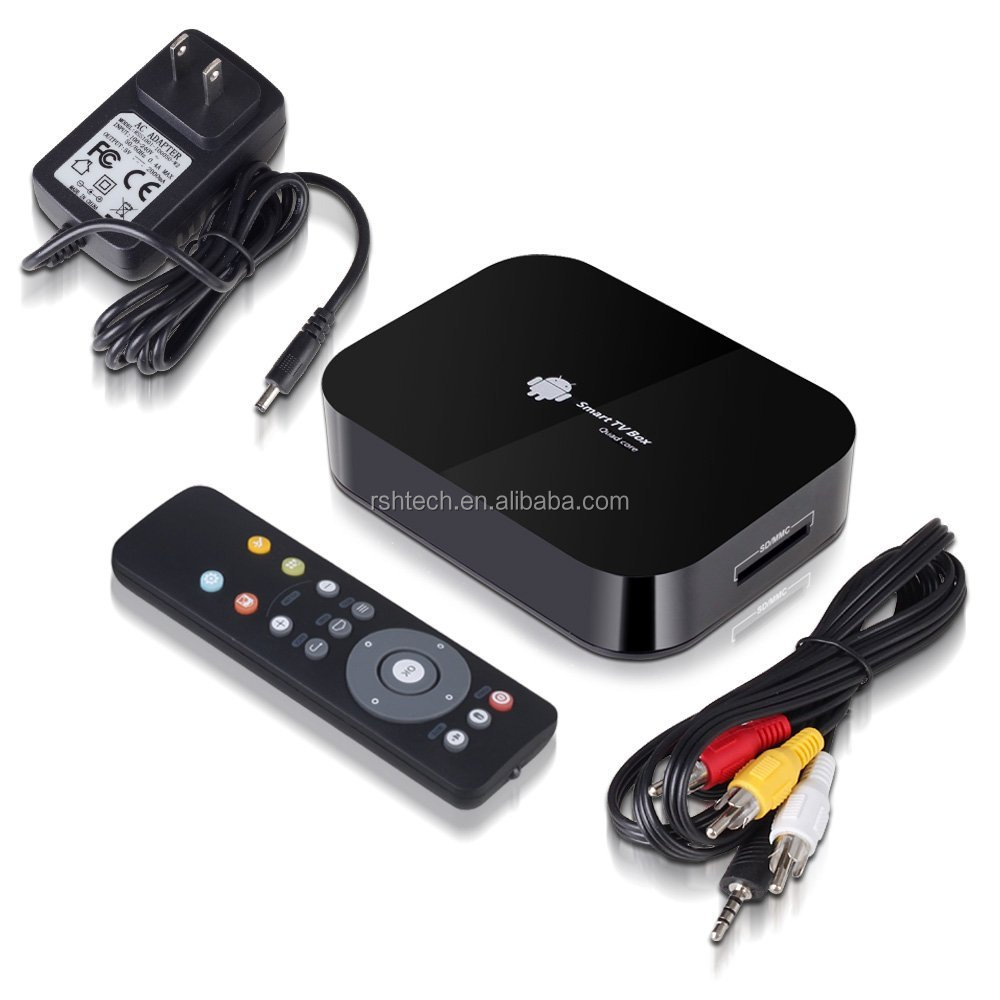Android 4.2 quad core a31s Ott tv box smart home theatre supporto 4k di decodifica video androide intelligente tv box
