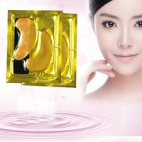 24k Gold Collagen Crystal Lint Free Under Eye Gel Patch Pad Eye Mask for anti aging, anti wrinkle