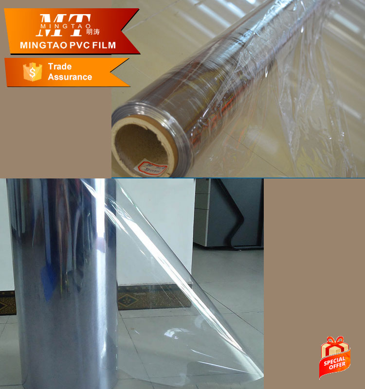 super clear /normal clear pvc/ soft hardness transparent pvc <strong>film</strong> for packing bags