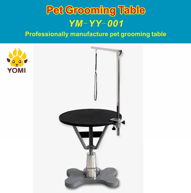 Round Height Adjustable Dog Grooming Table Buy Height Adjustable