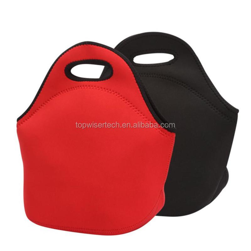 bolsa caliente para escuela 977 S-o-nic bolsa de neopreno aislada para almuerzo bolsa de almuerzo trabajo oficina bolsa de almuerzo