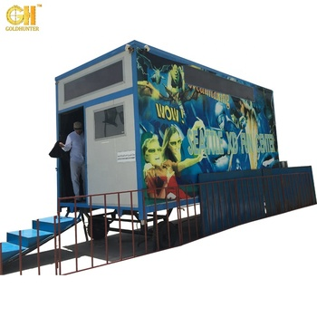 Gold Hunter Professional Truck Mobile 5D Cinema 7D 9D Cinema Theater Movie Simulator 3D 4D 5D 6D 7D 8D 9D 12D XD