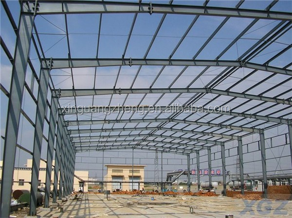 standard factory prefabricated light steel metal building