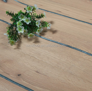 Vintage Style Natural Oak Solid Wood Flooring