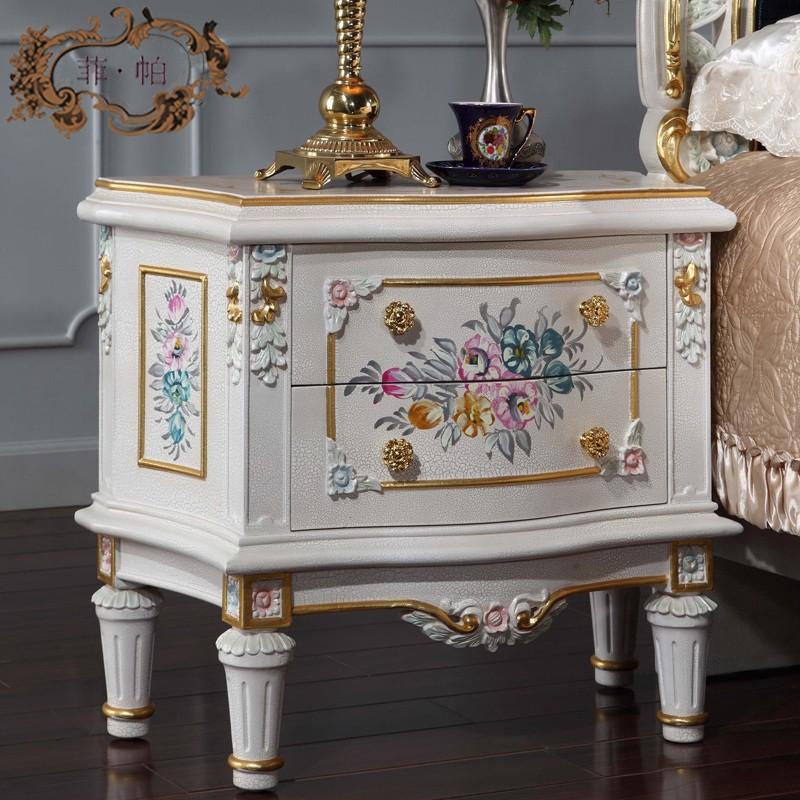 de luxe chambre meubles baroque style meubles table de chevet classique chambre night stand