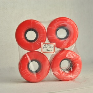 Hight quality products cheese red free skateboard wheels