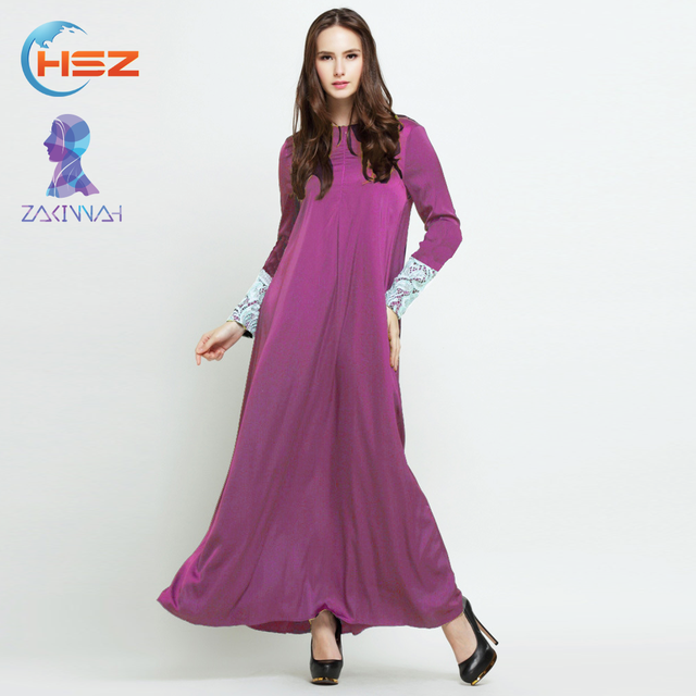 74a08f40769 Zakiyyah 10203 Pure islamic clothing uk online kaftan long dress arabic  abaya baju fesyen kurung peplum