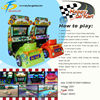 New products Happy go kart kids racing car game for sale