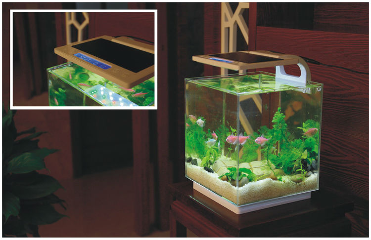 Sunsun Atk-250 21l Table Glass Fiber Fish Aquarium Tank For Sale ...