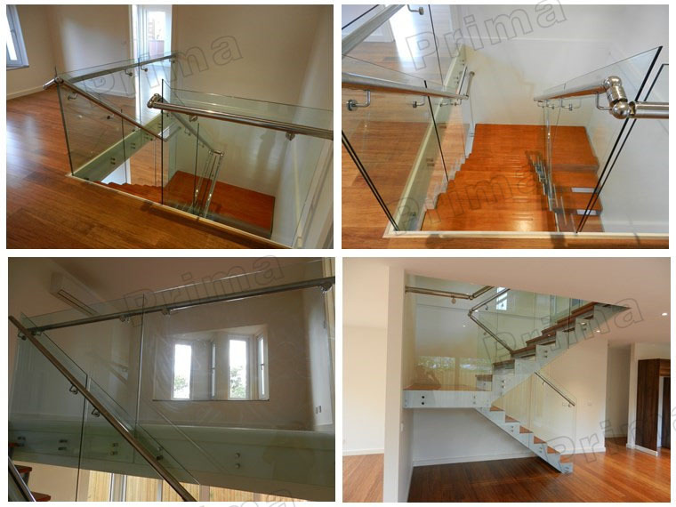 wooden glass railing designs