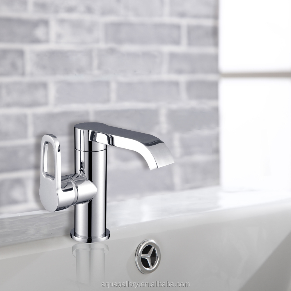 Deck Mounted Single Hole Bathroom Waterfall Mixer Tap