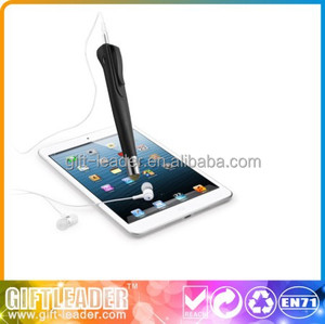 hot sell higher quality recorder bluetooth pen for capacitive screen mobile phone XSGP-1267