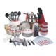 90-Piece Non-Stick Kitchen Cookware Combo Set Home Starter Set With FDA Grade Nylon Utensils