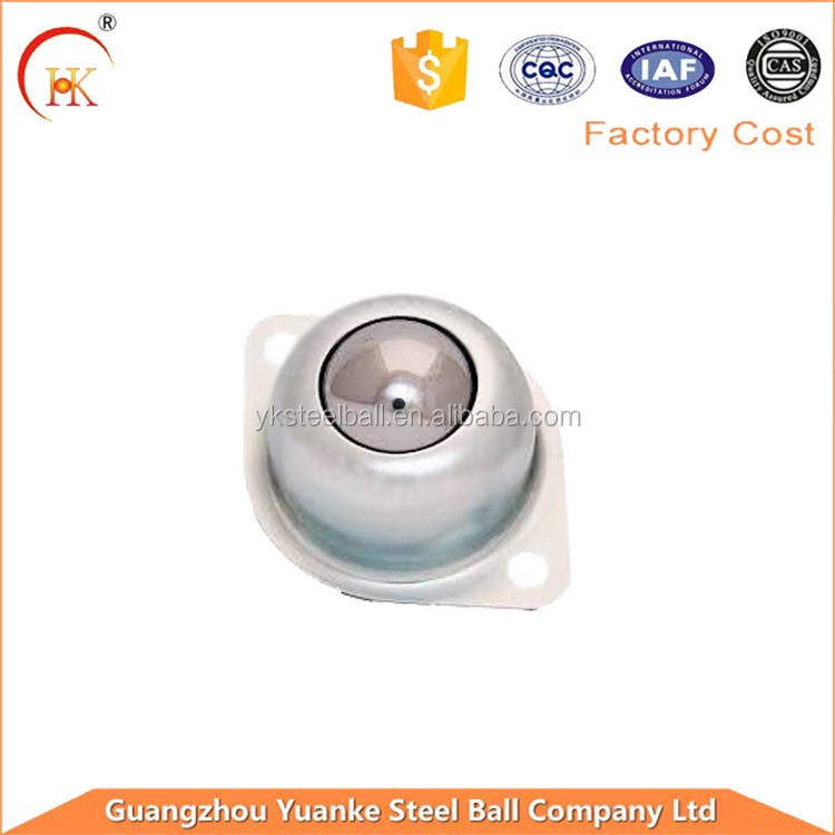 zinc-plated iron steel/stainless steel ball transfer unit ball bearing for conveyor line