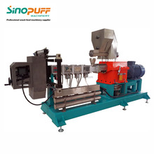 Center Filled Chocolate Bar Machine/Automatic Twin Screw Extruder Food Snacks Machine